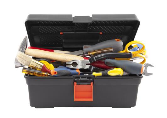 Illustrasjon av verktøykasse