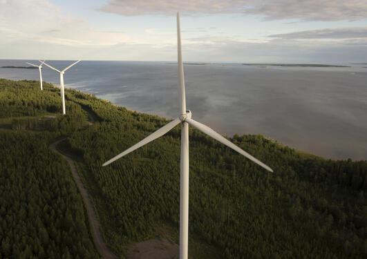 Bilde av vindmøller