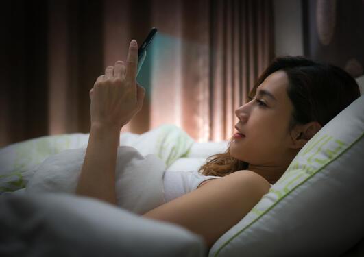 Lyseksponering ved leggetid