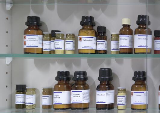 kjemikaliehylle