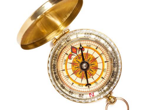Bilde av kompass