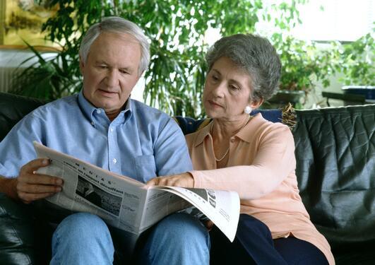 To pensjonister