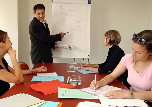 Illustrasjonsfoto av planlegging