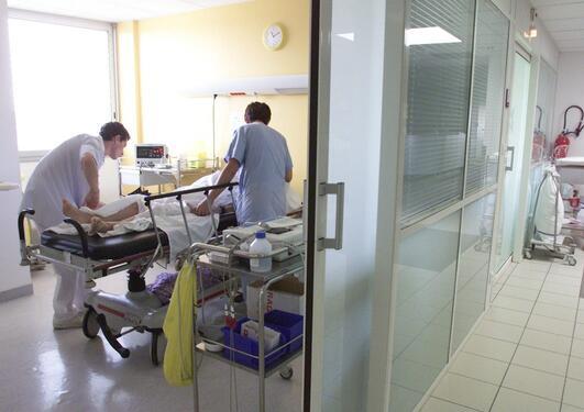 Bilde fra sykehus