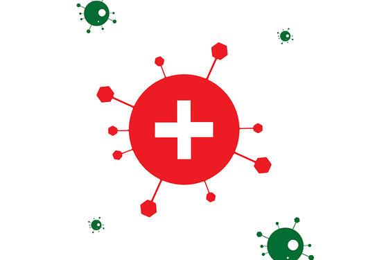 bilde av koronavirus