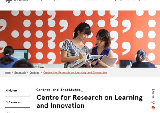 Centre for Research on Learning and Innovation