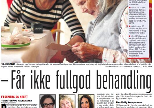 Faksimile Dagbladet 13.03.16