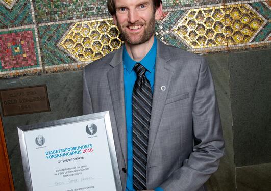 Simon Dankel med pris