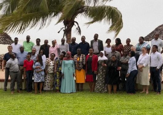 Gruppebilde Dar es Salaam