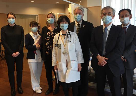 Delegasjon til japan