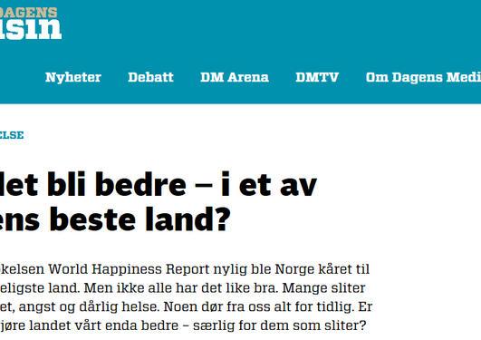 Kronikk i Dagens Medisin