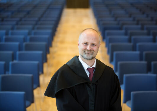 Portrettfoto Arnt E. Skjefstad