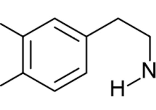 Dopamin molekyl