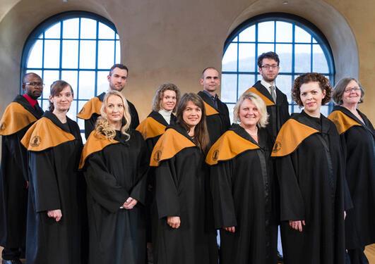 Doktorandene fra Det psykologiske fakultet vår 2017