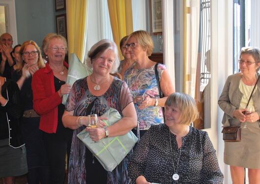 Fra venstre Marit Ullestad Nilsen, Deirdre M. Collins Kolle og Randi Hvidsten Power.