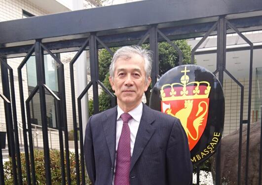 OUR MAN IN TOKYO: Hiroshi Matsumoto will serve as a contact between UiB, NTNU and research institutions in Japan.
