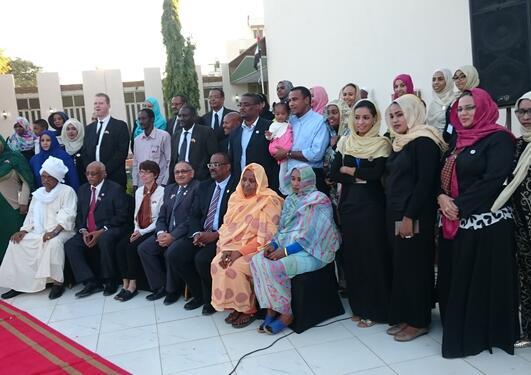 Alumnustreff, Khartoum, Anne Kristine Johannesen, viserektor for internasjonalisering