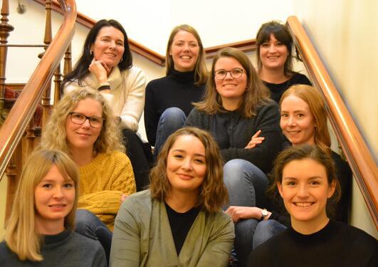 Bilde med medlemmene i Pro bono-gruppen.