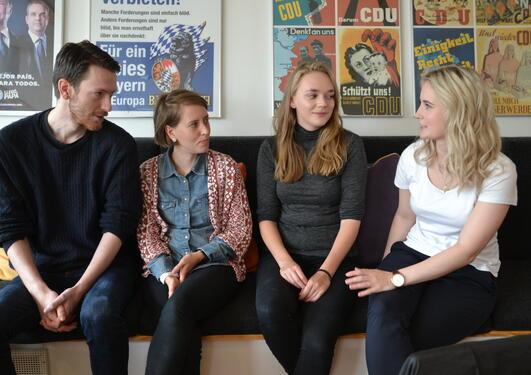 Nye masterstudenter på sampol