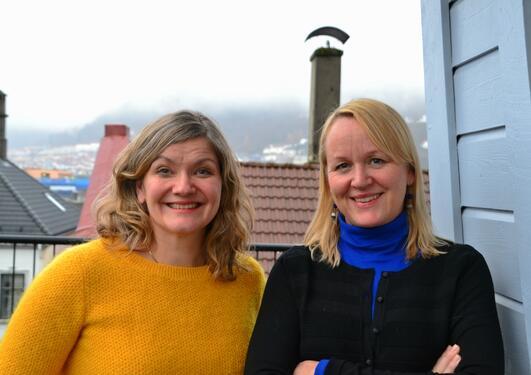 Ragnhild Louise Muriaas og Lovise Aalen