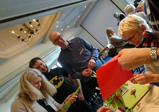 Medlemmer fra ressursgruppen på Solstrand
