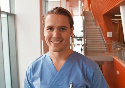 Student på odontologen
