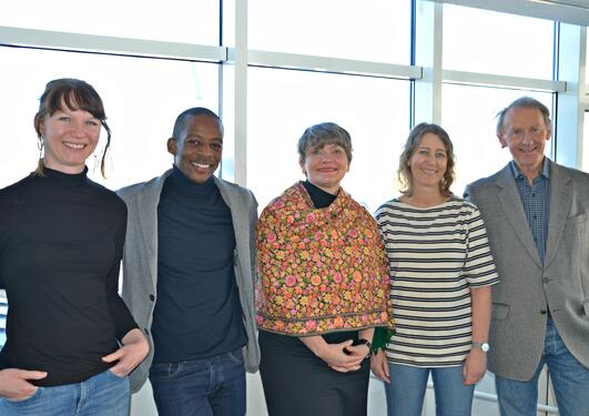 Bergen-based researchers connected to the research project.