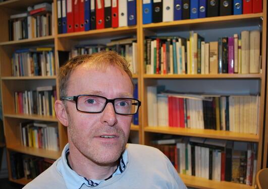 Historiker Svein Atle Skålevåg