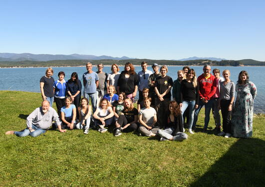 Participants (students and lecturers) on the course