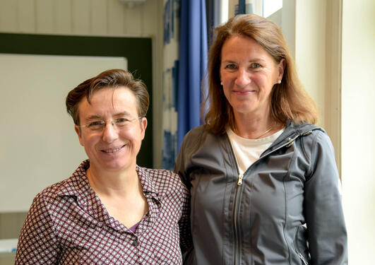 Heather allore togheter with Bettina Husebø