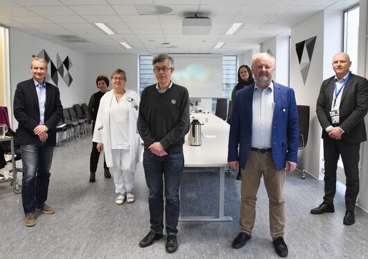 Møte mellom UiB og Helse Førde om Vestandslegen