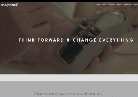 Designworks web site
