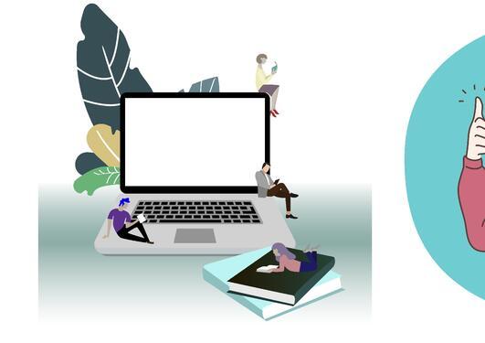 Illustrasjon av e-læring