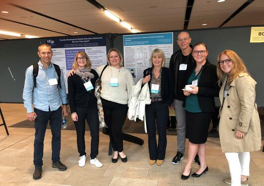 Deltakere fra Norge på konferansen International Conference on Faculty Development in the Health Professions