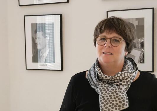 NY LEDER: UiB-professor Ellen Mortensen er ny faglig leder for Holbergprisen.