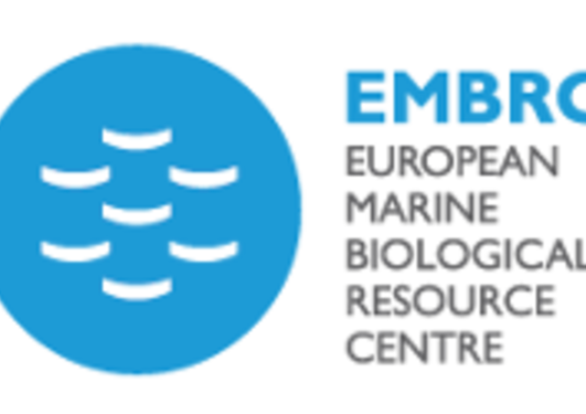 Logo of the European Marine Biological Resource Centre, a European research infrastructure