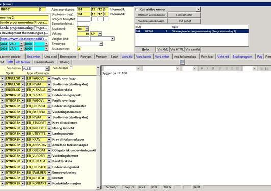 Bildet viser infotyper i Emne samlebilde