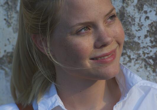 Portrait of Caroline Engen.