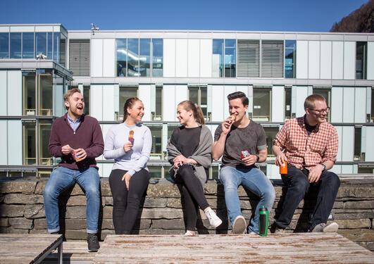 Studenter ved Universitetet i Bergen