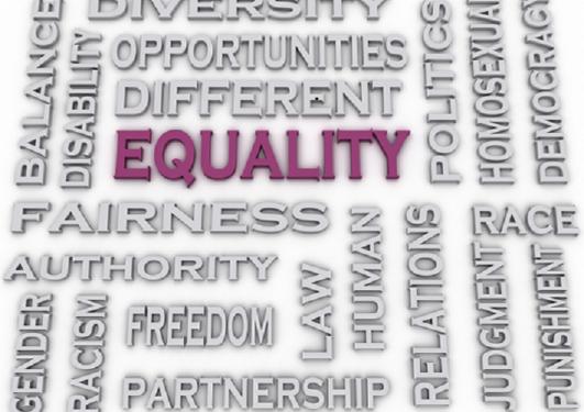 """Ordsky med ordet """"equality"""" fremhevet."""