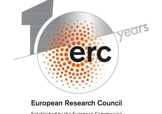 ERC logo 10 år