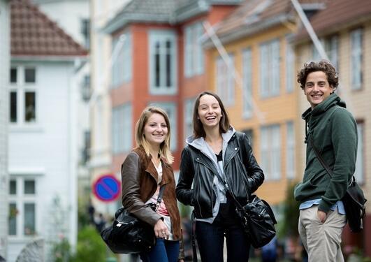 Stadig flere internasjonale studenter kommer til Bergen