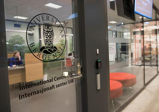 Entrance to International Centre UiB