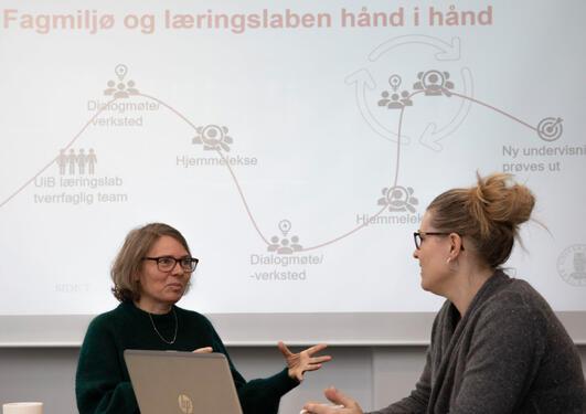 Vibeke Tellmann og Karianne Omdahl