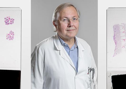 Olav Dahl, professor ved Klinisk institutt 2 - seksjon for ontologi, UiB