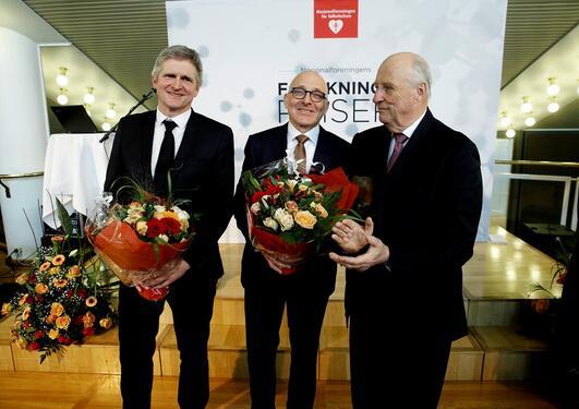 H.M. Kongen, Geir Selbæk, Kaare Bønaa