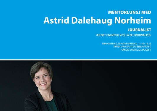 Mentorlunsj Astrid Dalehaug Norheim