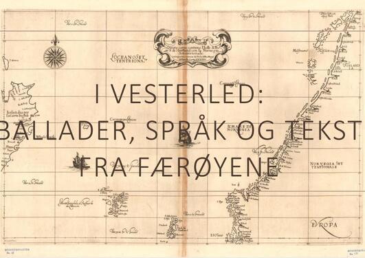 Kart over Færøyene