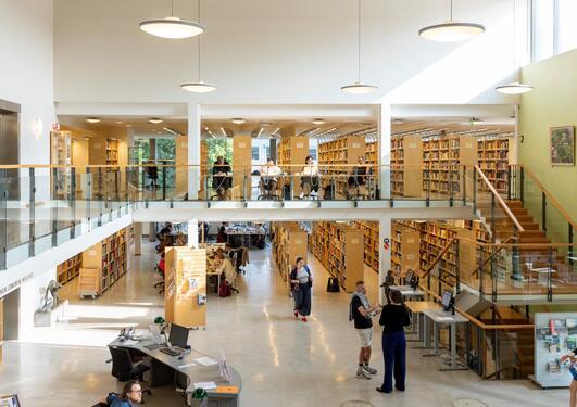 Humaniora biblioteket uib