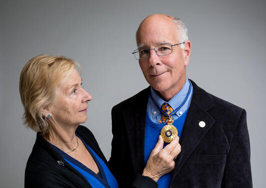 Professor Michael Fellows, Frances A. Rosamond